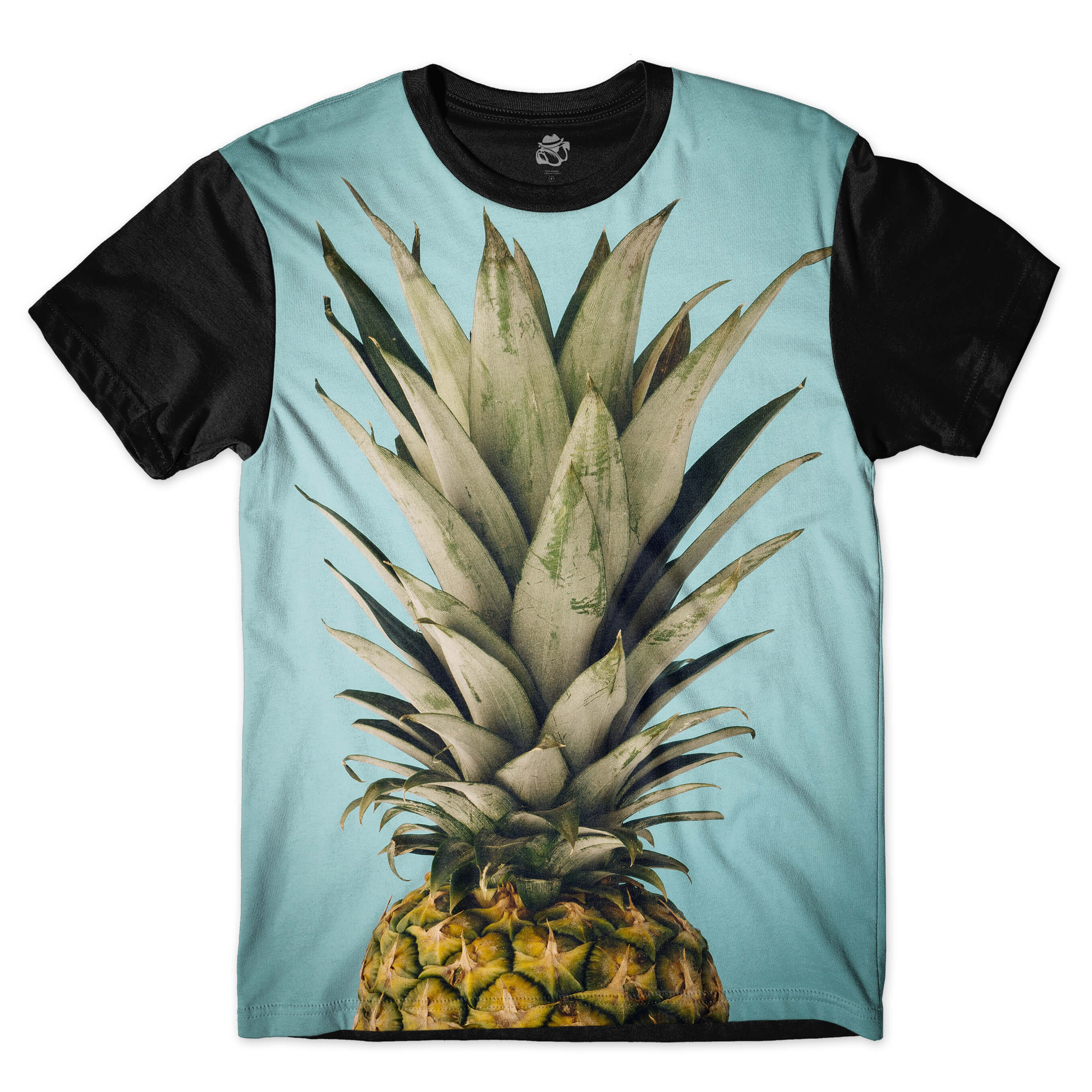 Camiseta BSC Pineapple Sublimada Preto