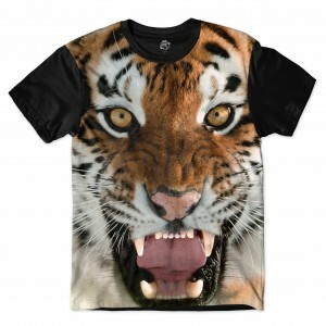 Camiseta BSC Tiger Sublimada Preto