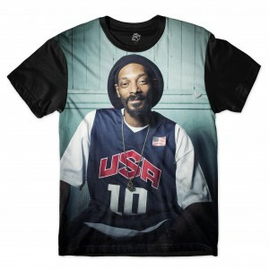 Camiseta BSC Snoop USA Sublimada Preto