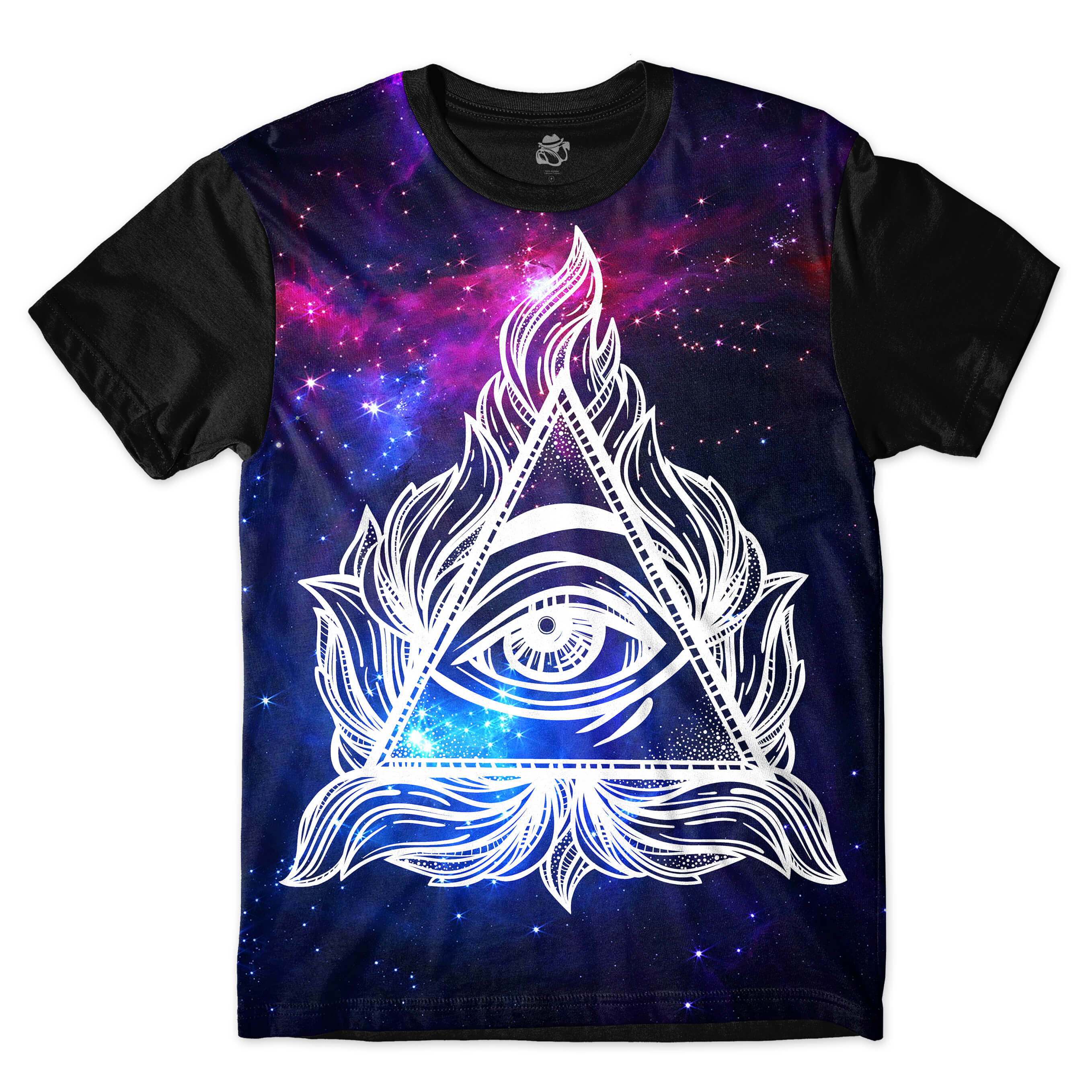 Camiseta BSC Hidden Eye Full Print Preto