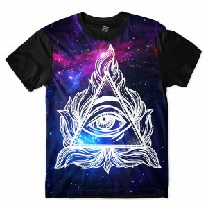 Camiseta BSC Hidden Eye Sublimada Preto