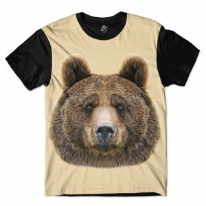 Camiseta BSC Bear Sublimada Preto