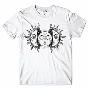 Camiseta BSC Moon and Sun Branco