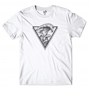Camiseta BSC Wave Triangle Branco