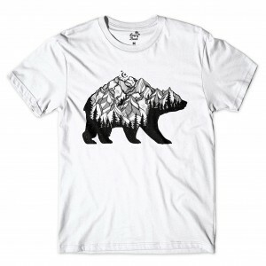 Camiseta BSC Mountain Bear Branco