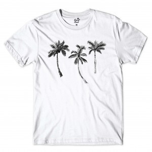Camiseta BSC Palm Tree Branco
