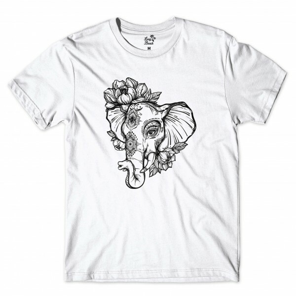 Camiseta Long Beach Elephant Branco