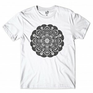 Camiseta Long Beach Mystc Flower Branco