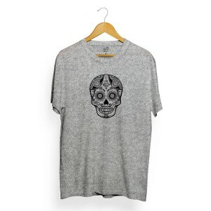 Camiseta Long Beach Skull Diamond Cinza