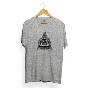 Camiseta BSC Eye Pyramid Cinza