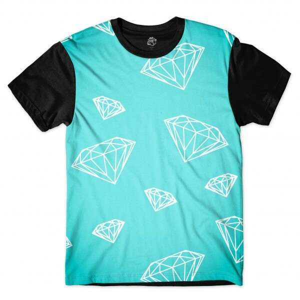 Camiseta BSC Diamonds Sublimada Preto