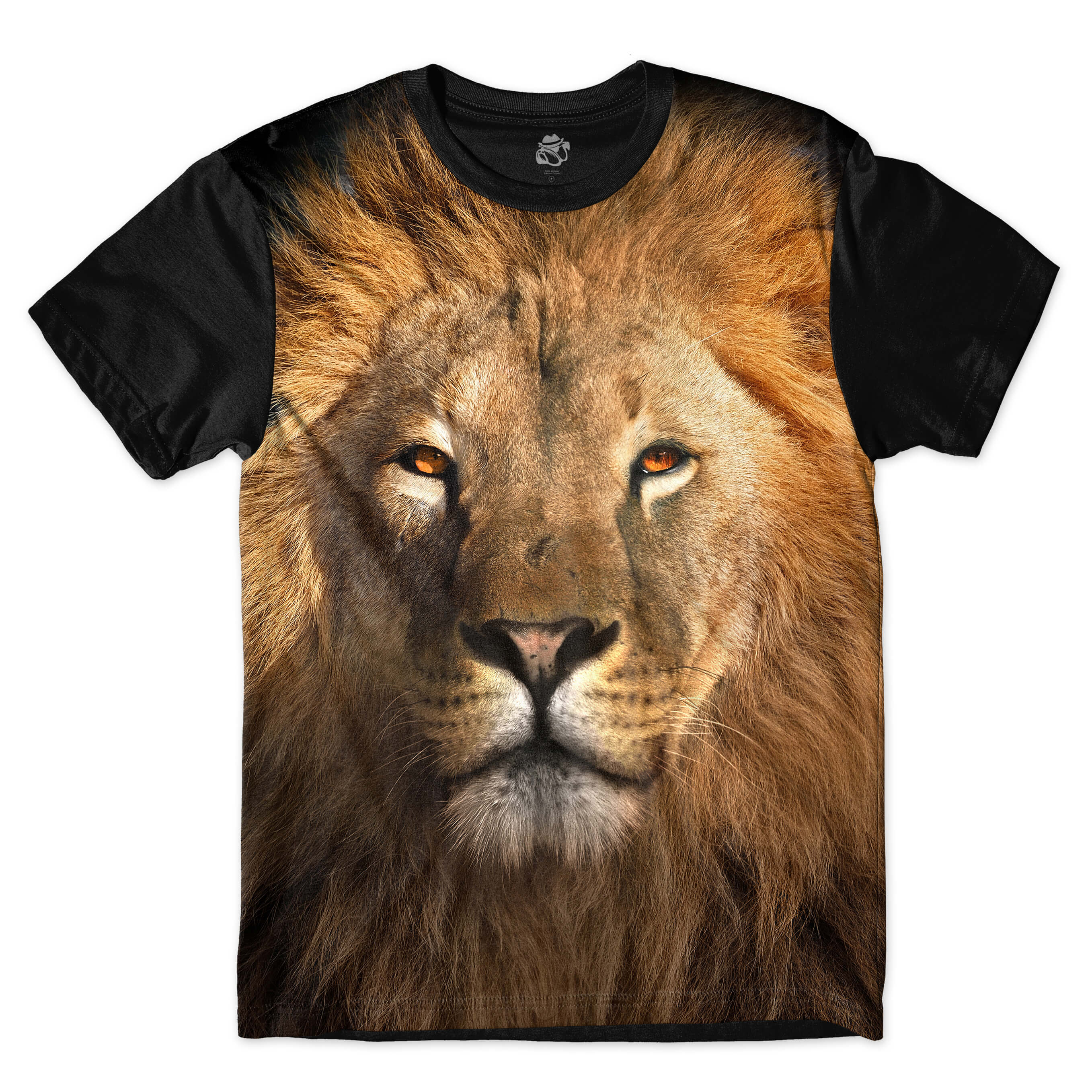 Camiseta BSC Lion Sublimada Preto