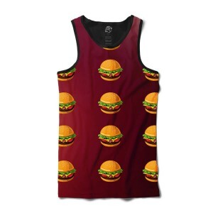 Camiseta BSC Regata Hamburger Full Print Preto