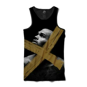 Camiseta BSC Regata Chris Brown x Sublimada Preto