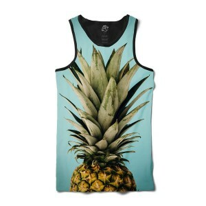 Camiseta BSC Regata Pineapple Sublimada Preto