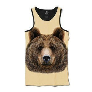 Camiseta BSC Regata Bear Sublimada Preto