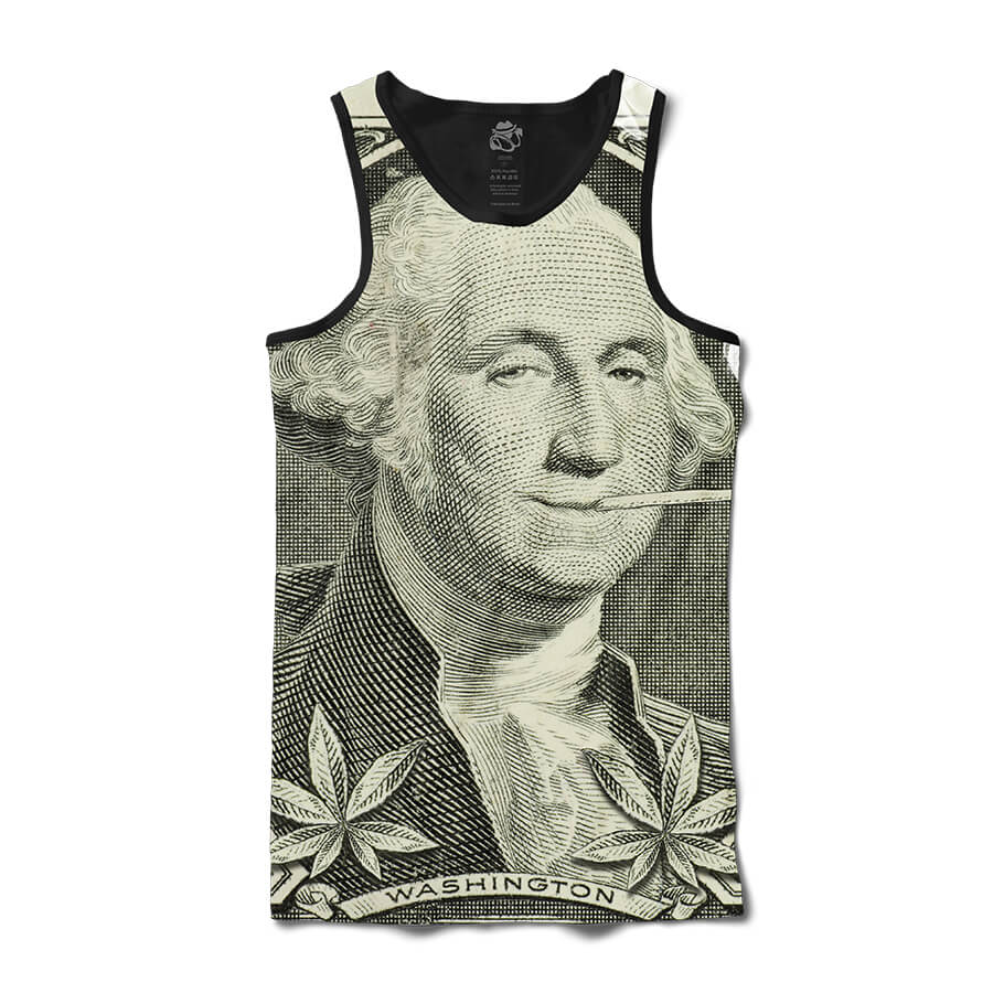 Camiseta BSC Regata George Washington Kush Full Print Preto