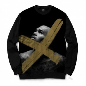Blusa BSC Chris Brown x Full Print Preto