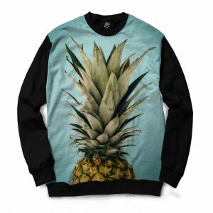 Blusa BSC Pineapple Sublimada Preto