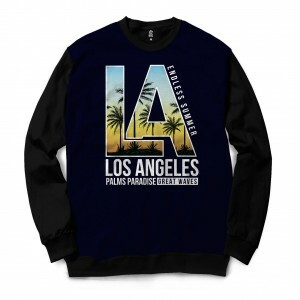 Blusa BSC Los Angeles Sublimada Preto
