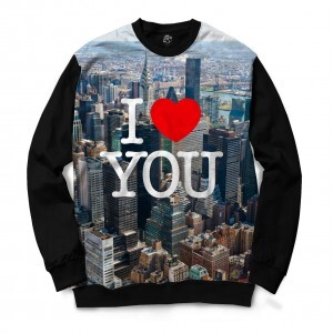 Blusa BSC I Love NYC Sublimada Preto