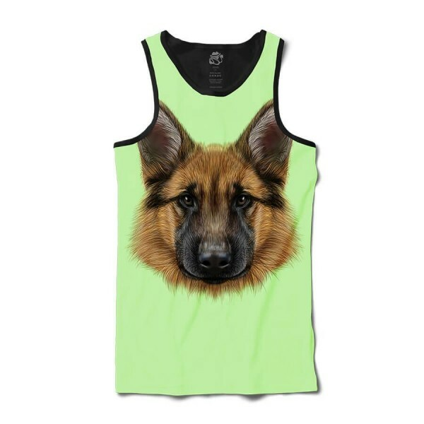 Camiseta BSC Regata German Shepherd Dog Sublimada Preto