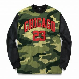 Blusa BSC Chicago Camo Sublimada Preto