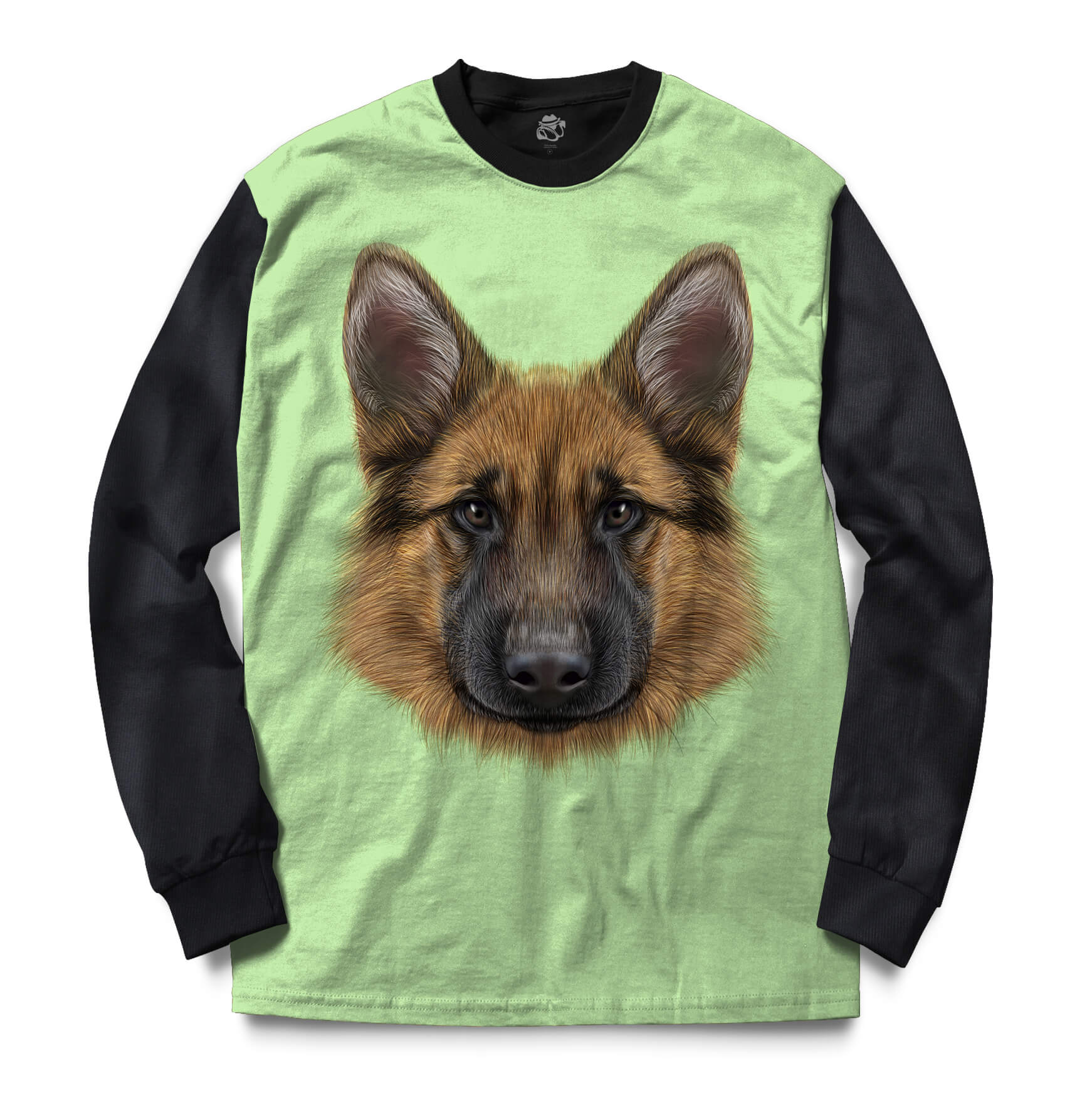 Blusa BSC German Shepherd Dog Sublimada Preto