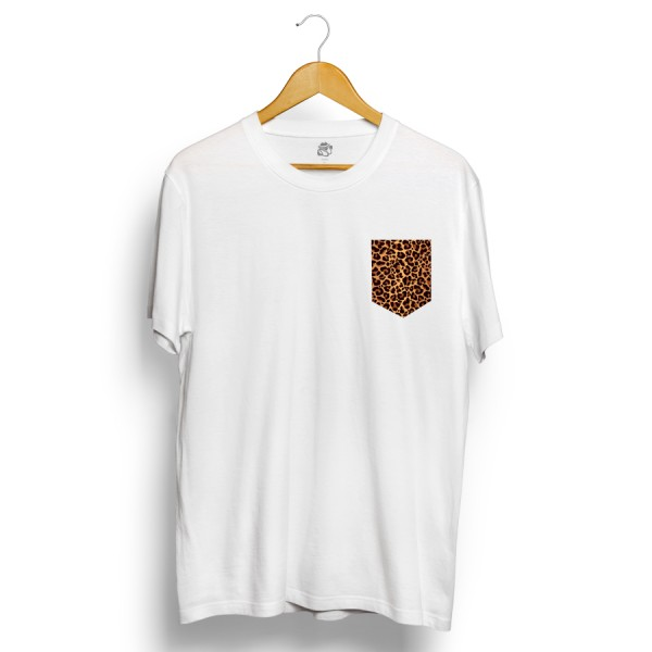Camiseta BSC Jaguar Pocket Branco