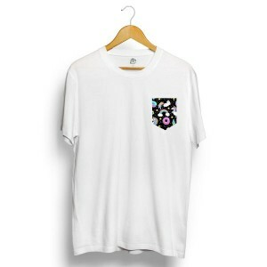 Camiseta BSC Unicorn Pocket Branco