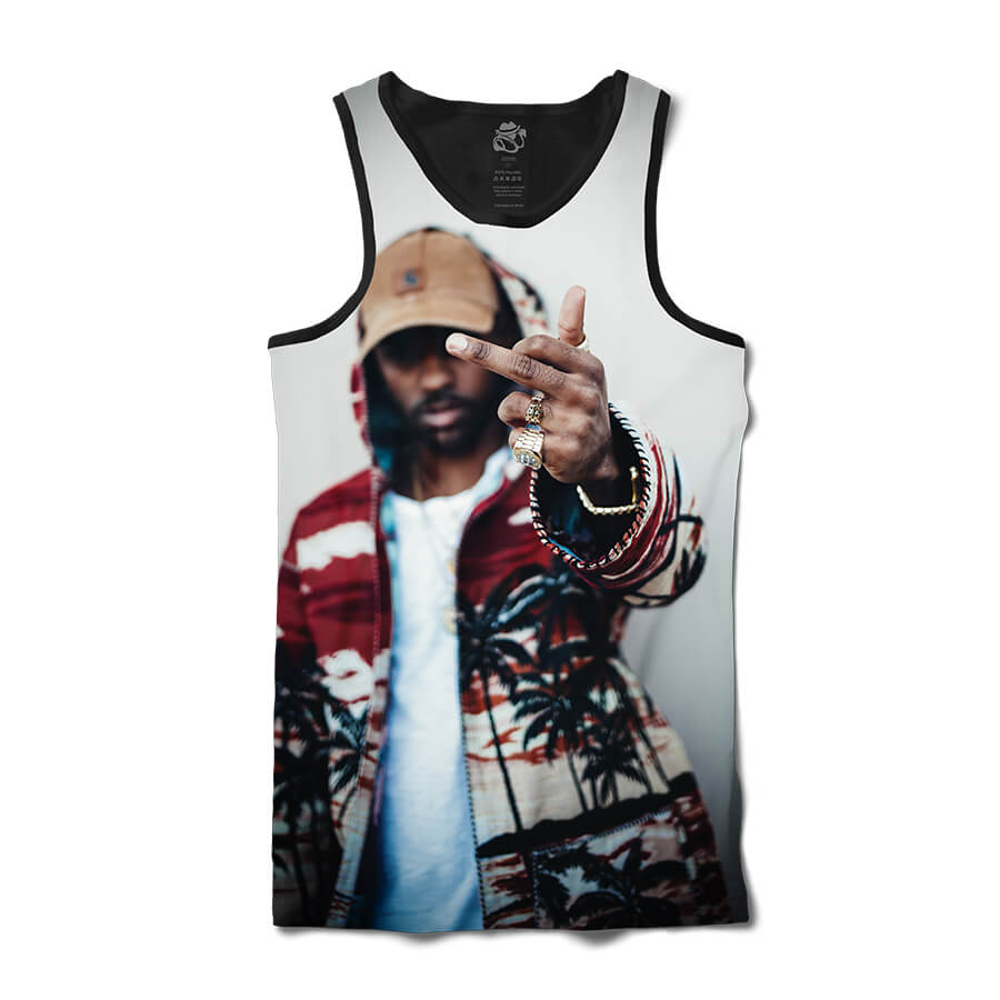 Camiseta BSC Regata Big Sean Full Print Preto
