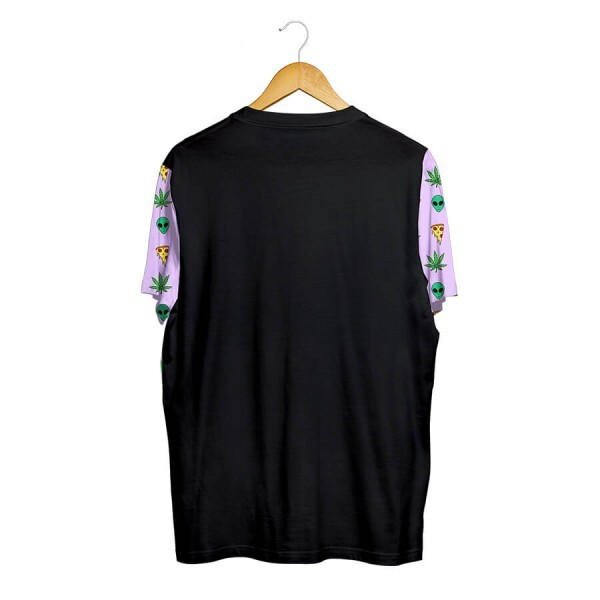 Camiseta BSC Raglan Breeze Preto