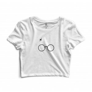 Cropped Morena Deluxe Glasses Branco