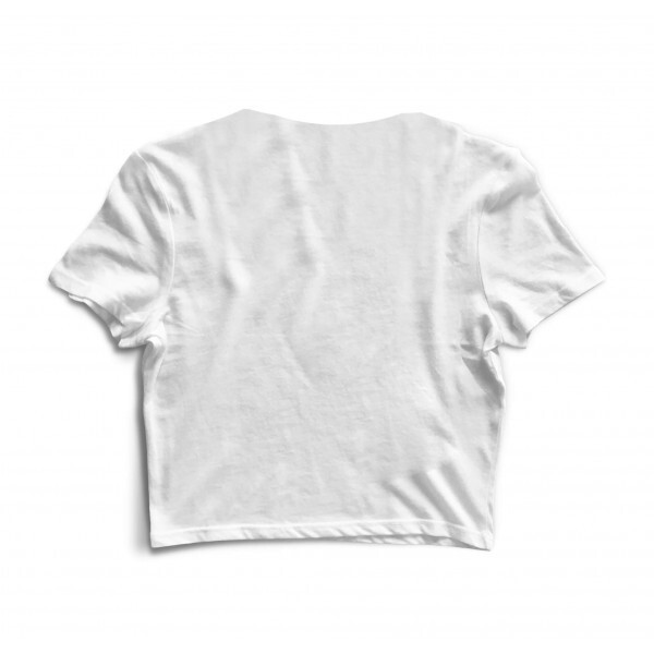 Cropped Morena Deluxe Small Alien Branco