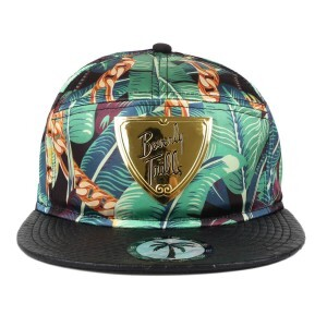 Boné BLVD Supply Snapback Trill Shield Floral