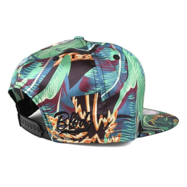 Boné BLVD Supply Snapback Beverly Hills Floral