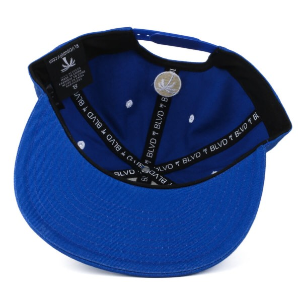 Boné BLVD Supply Snapback La Palm Azul