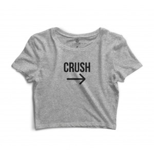 Cropped Morena Deluxe Crush Cinza