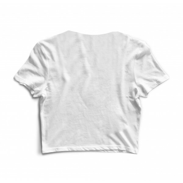 Cropped Morena Deluxe Paramore Branco