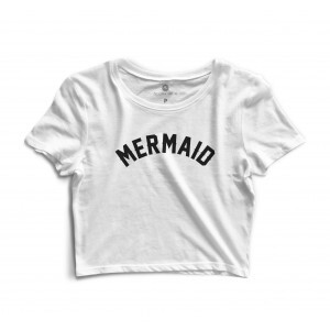 Cropped Morena Deluxe Mermaid Branco