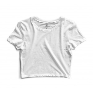 Cropped Morena Deluxe Basic Branco