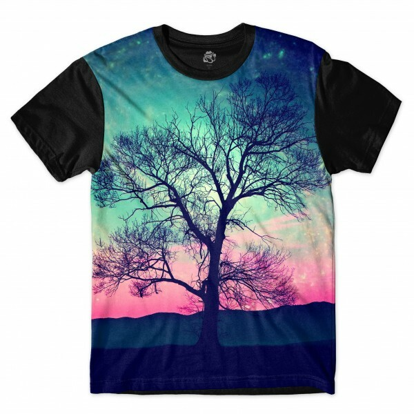 Camiseta BSC Tree Full Print Preto