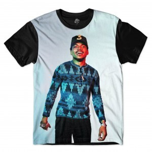 Camiseta BSC Chance The Rapper Full Print Preto