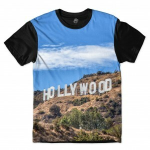 Camiseta BSC Hollywood Sublimada Preto