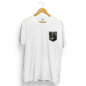 Camiseta BSC Boombox Pocket Branco