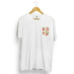 Camiseta BSC Rose Pocket Branco