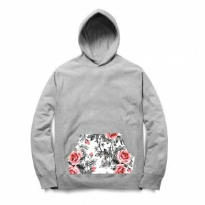 Moletom Rege Sure Flower Cinza