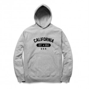 Moletom BSC California USA Cinza