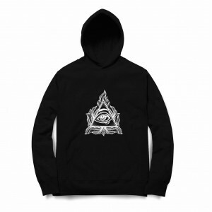 Moletom Long Beach Eye Pyramid Preto