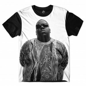 Camiseta BSC Biggie Smalls Sublimada Preto
